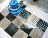 Шлифовка и кристализация мрамора