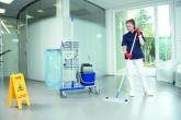 Уборка в больницах и поликлиниках.